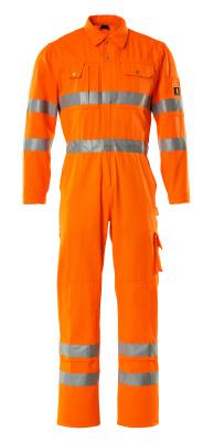00419-860-14 Arbeitsoverall - hi-vis Orange