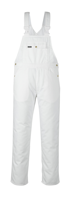 00569-430-06 Latzhose - Weiß