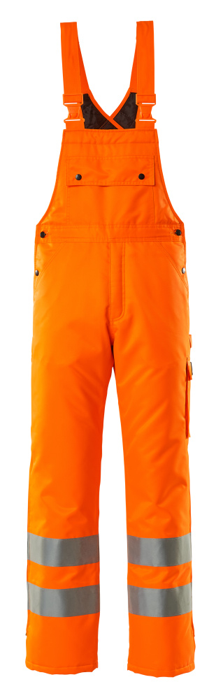 00592-880-14 Winterlatzhose - hi-vis Orange