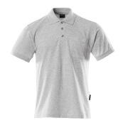 00783-260-08 Polo-Shirt mit Brusttasche - Grau-meliert