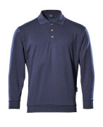 00785-280-01 Polo-Sweatshirt - Marine