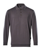 00785-280-888 Polo-Sweatshirt - Anthrazit