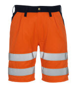 00949-860-141 Short - Hi-vis orange/Marine