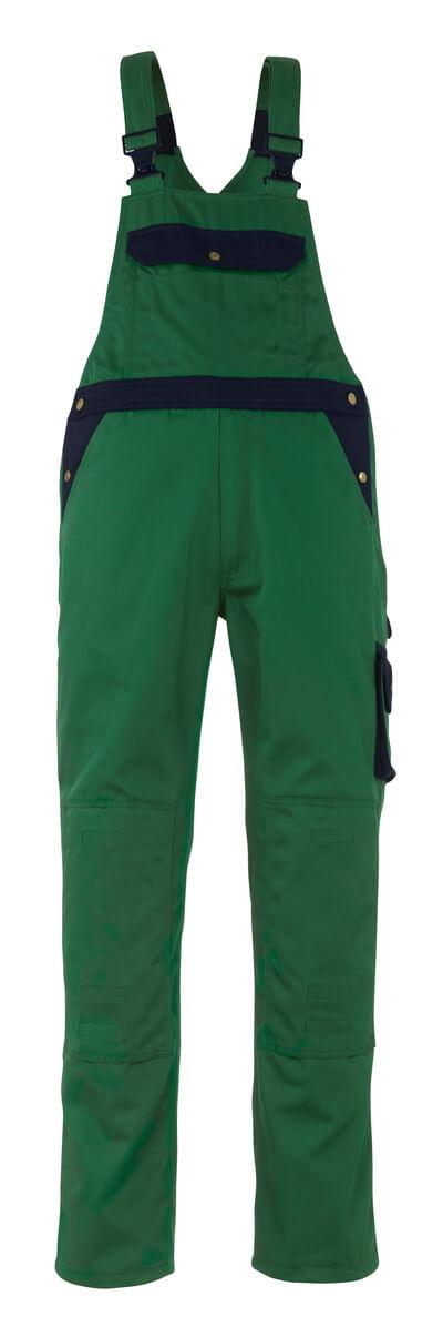 00969-430-1101 Salopette avec poches genouillères - Bleu roi/Marine