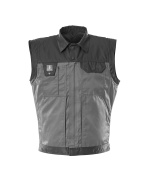 00989-620-8889 Gilet grand froid - Anthracite/Noir
