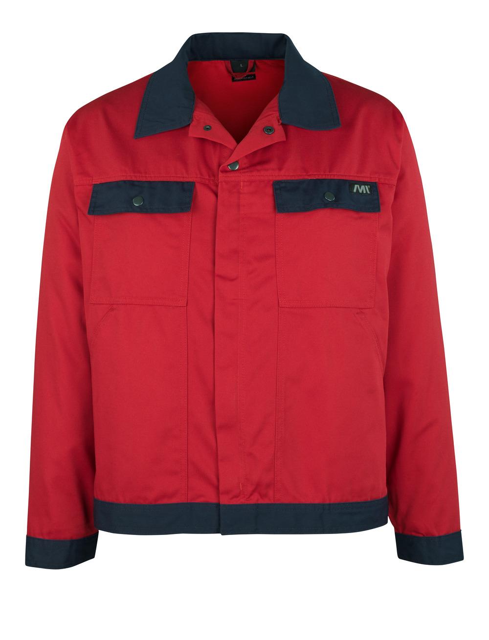 04509-800-21 Jacke - Rot/Marine