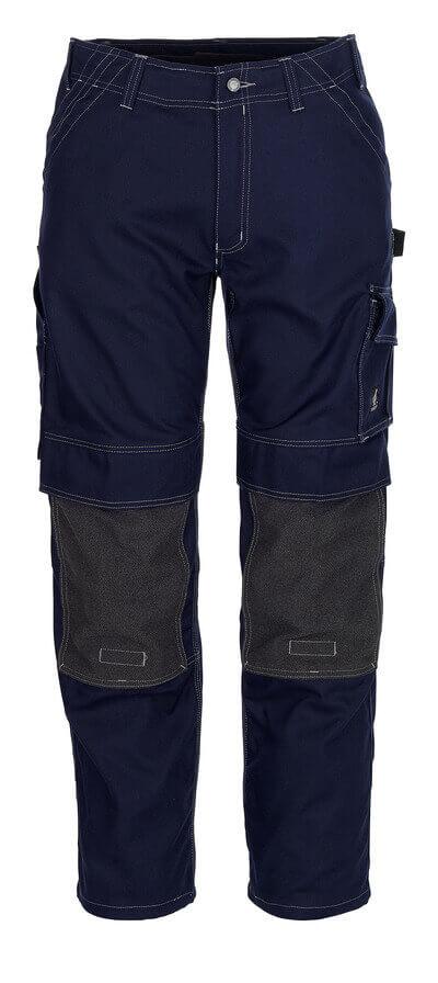 05079-010-01 Pantalon avec poches genouillères - Marine