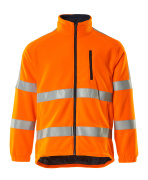 05242-125-14 Fleecejacke - hi-vis Orange