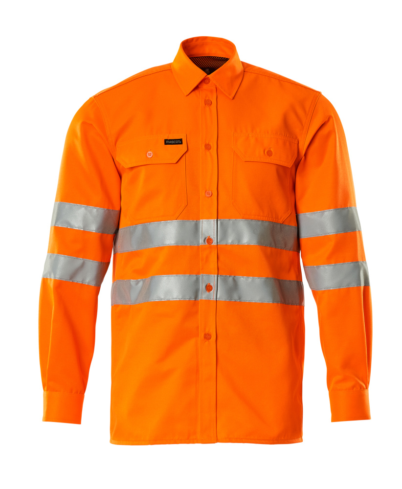 06004-136-14 Hemd - hi-vis Orange