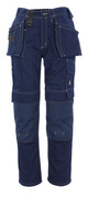06131-630-01 Pantalon avec poches genouillères et poches flottantes - Marine