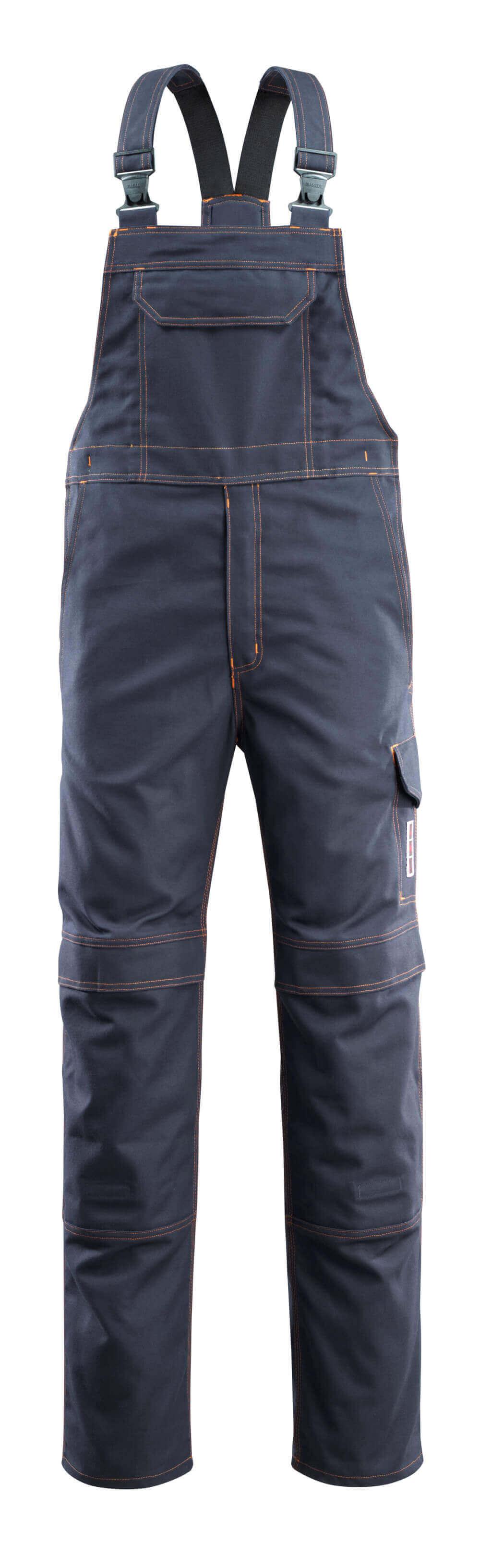 06669-135-010 Salopette avec poches genouillères - Marine foncé