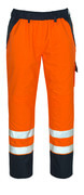 07090-880-141 Surpantalon - Hi-vis orange/Marine