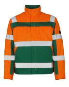07109-860-1403 Jacke - hi-vis Orange/Grün