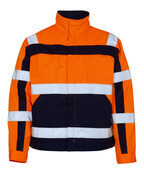 07109-860-141 Veste - Hi-vis orange/Marine