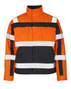 07109-860-14888 Jacke - hi-vis Orange/Anthrazit