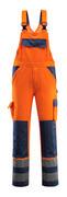 07169-860-141 Salopette avec poches genouillères - Hi-vis orange/Marine