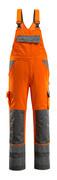 07169-860-14888 Salopette avec poches genouillères - Hi-vis orange/Anthracite