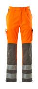 07179-860-14888 Pantalon avec poches genouillères - Hi-vis orange/Anthracite