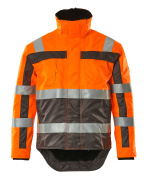 07223-880-14888 Veste grand froid - Hi-vis orange/Anthracite