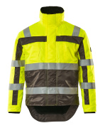 07223-880-17888 Veste grand froid - Hi-vis jaune/Anthracite