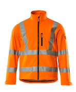 08005-159-14 Veste softshell - Hi-vis orange