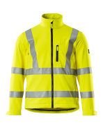 08005-159-14 Soft Shell Jacke - hi-vis Orange