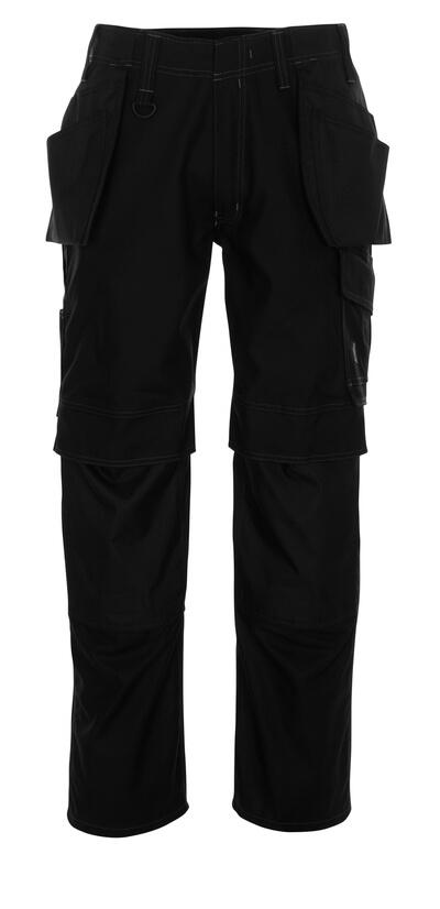 10131-154-010 Pantalon avec poches genouillères et poches flottantes - Marine foncé