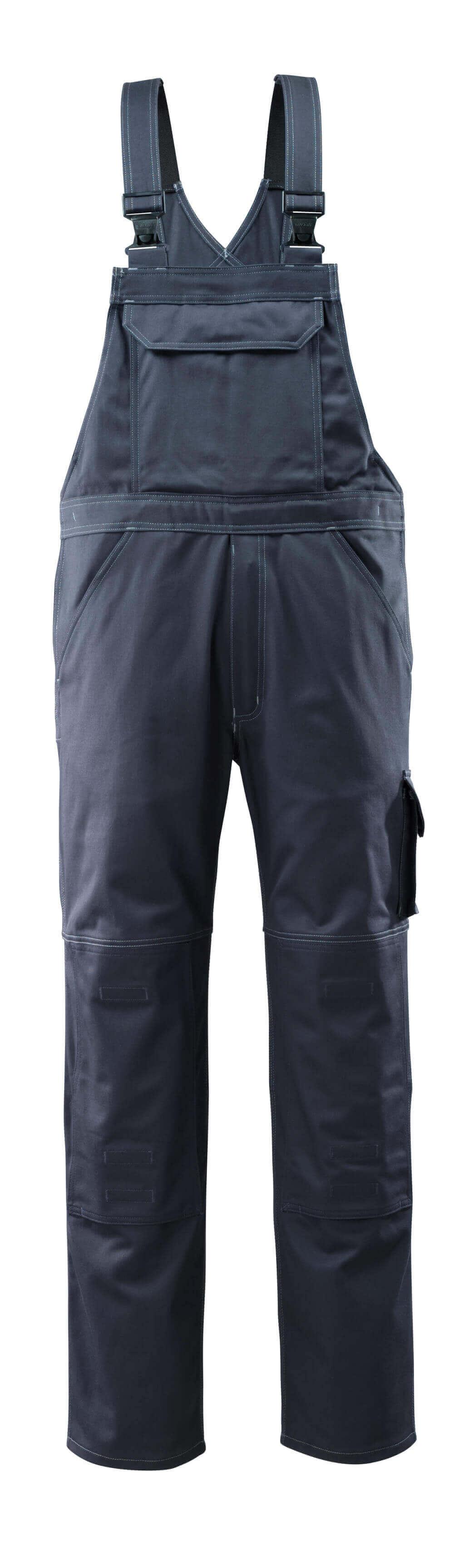 12362-630-010 Salopette avec poches genouillères - Marine foncé