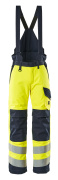 13892-217-17010 Pantalon grand froid - Hi-vis jaune/Marine foncé