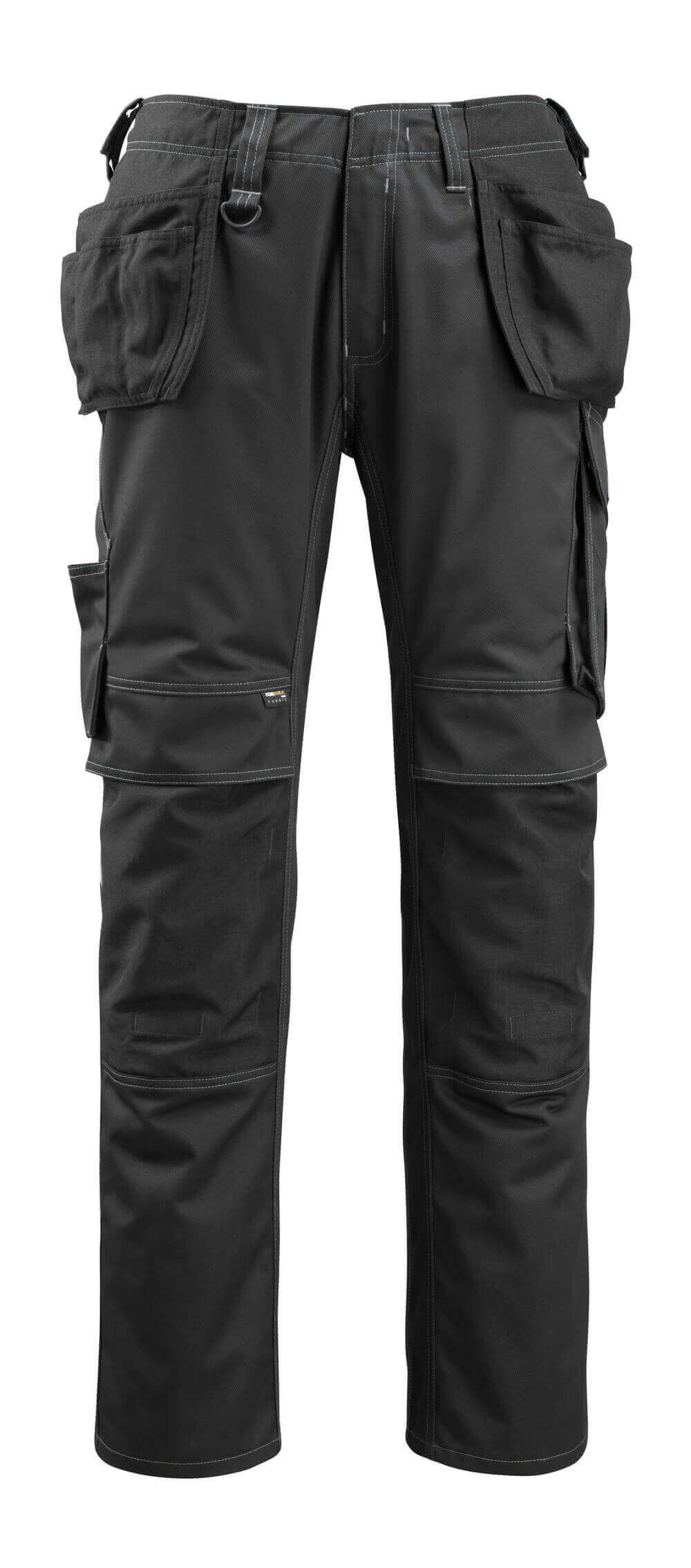 14131-203-09 Pantalon avec poches flottantes - Noir