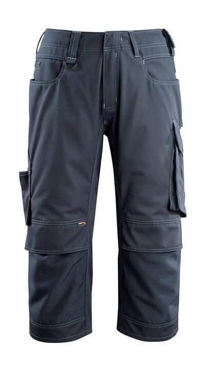14249-442-010 Dreiviertel-Hose mit Knietaschen - Schwarzblau