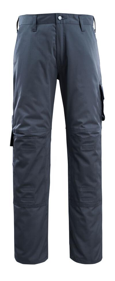 14379-850-010 Pantalon avec poches genouillères - Marine foncé