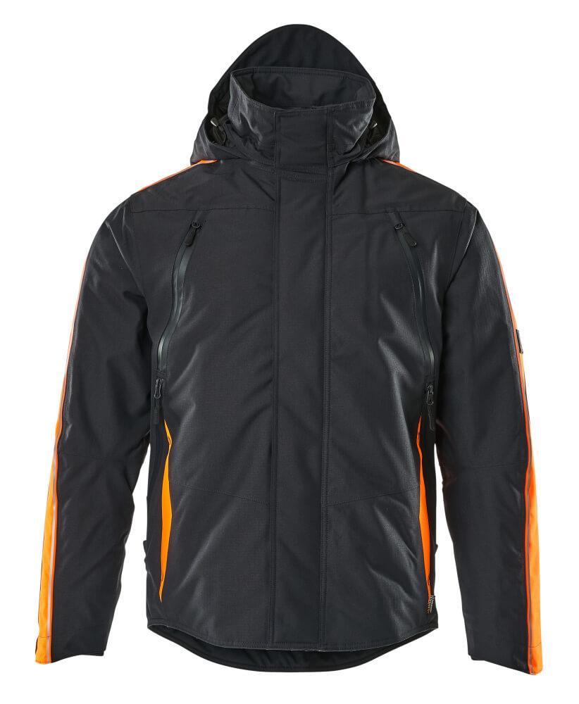 15035-222-01014 Veste grand froid - Marine foncé/Orange