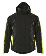 15035-222-0917 Veste grand froid - Noir/Hi-vis jaune