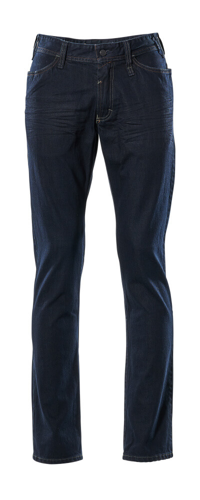 15379-869-66 Jeans - Denim foncé délavé