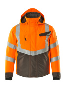 15535-231-1418 Veste grand froid - Hi-vis orange/Anthracite foncé