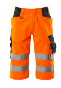 15549-860-14010 Shorts - Hi-vis orange/Marine foncé