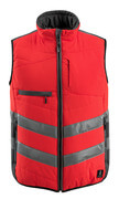 15565-249-14010 Gilet grand froid - Hi-vis orange/Marine foncé