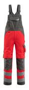 15569-860-14010 Salopette avec poches genouillères - Hi-vis orange/Marine foncé