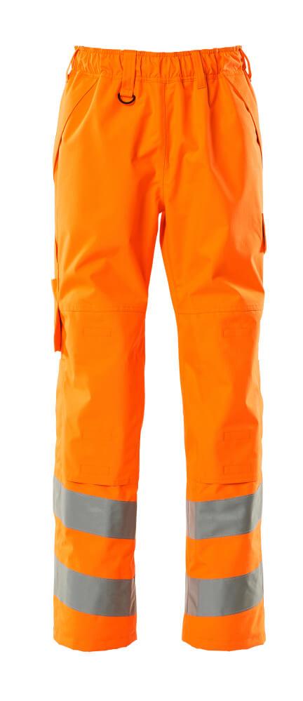 15590-231-14 Überziehhose mit Knietaschen - hi-vis Orange