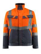 15909-948-14010 Jacke - hi-vis Orange/Schwarzblau