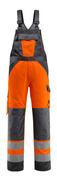 15969-948-1418 Salopette avec poches genouillères - Hi-vis orange/Anthracite foncé