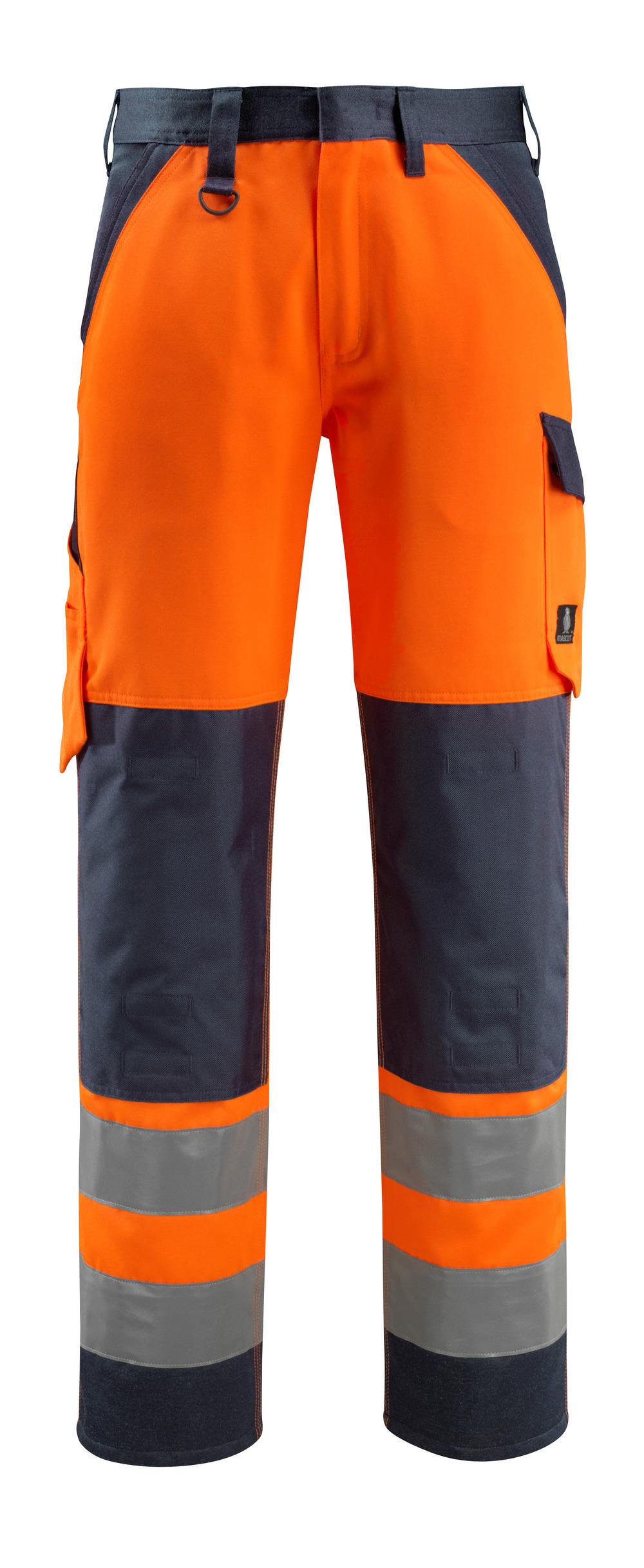 15979-948-14010 Arbeitshose - hi-vis Orange/Schwarzblau
