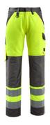 15979-948-1718 Pantalon avec poches genouillères - Hi-vis jaune/Anthracite foncé