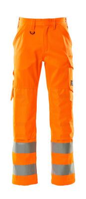 16879-860-14 Pantalon avec poches genouillères - Hi-vis orange