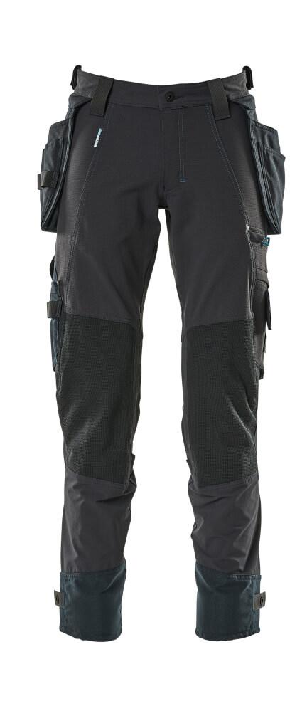 17031-311-010 Pantalon avec poches flottantes - Marine foncé