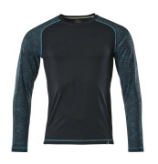 17281-944-010 T-shirt, manches longues - Marine foncé