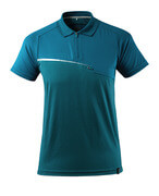 17283-945-44 Polo-Shirt mit Brusttasche - Petroleum