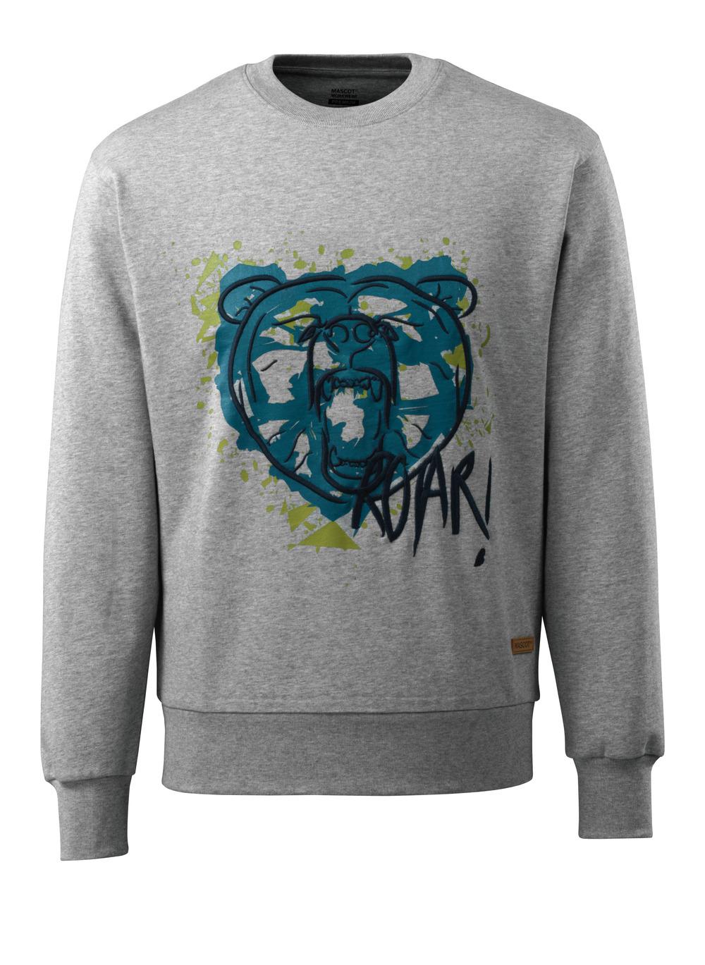 17284-280-08 Sweatshirt - Grau