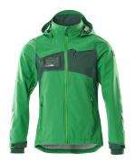 18001-249-33303 Hard Shell Jacke - Grasgrün/Grün